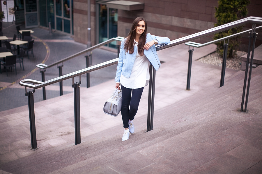 fashion_personal_style_blog_pastel_leather_jacket_white_shirt_black_skinny_jeans_street_style_blogger_outfit_look_zara_4