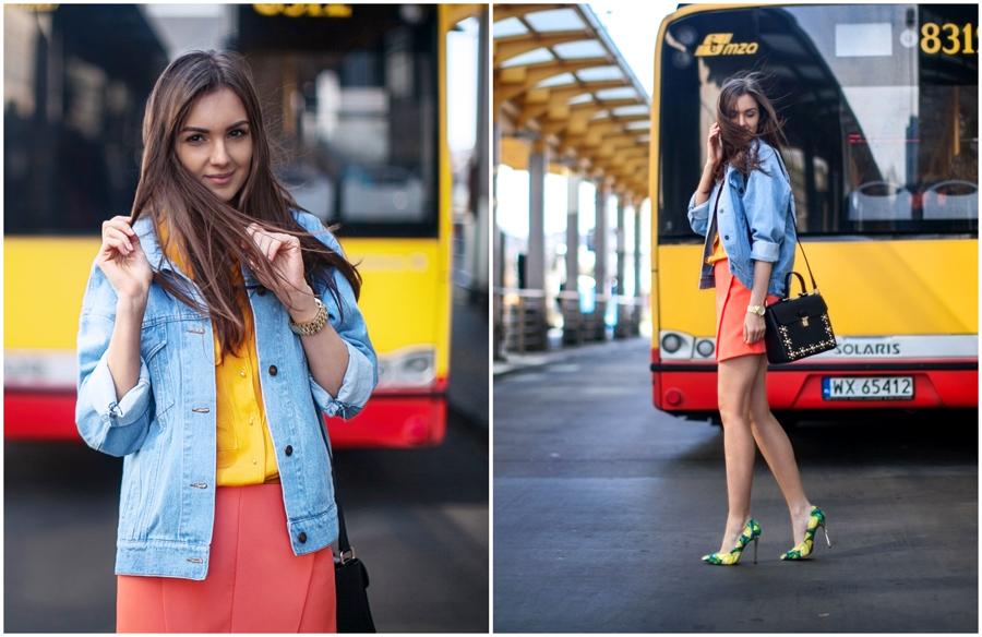 personal_style_fashion_blog_Ukraine_europe_denim_jacket_mini_skirt_orange_heels_tropical_print_Nika_Huk7