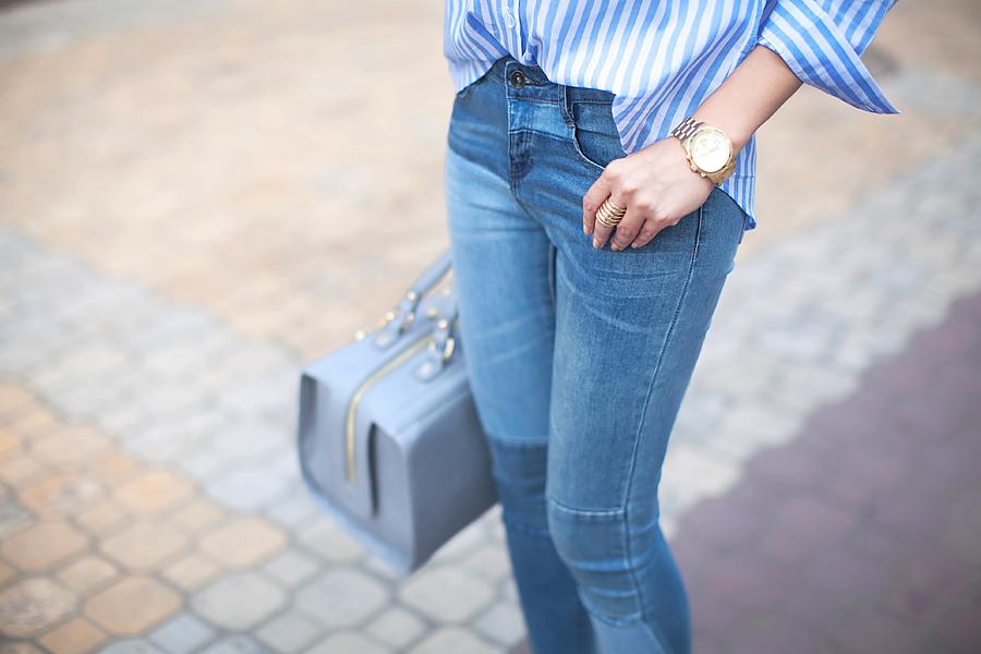 striped_shirt_patchwork_jeans_fashion_blogger_ukraine_nika_huk_personal_style