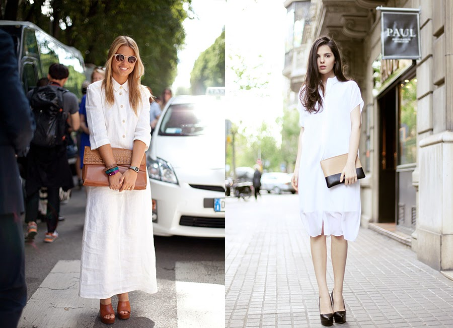 White dresses outfits