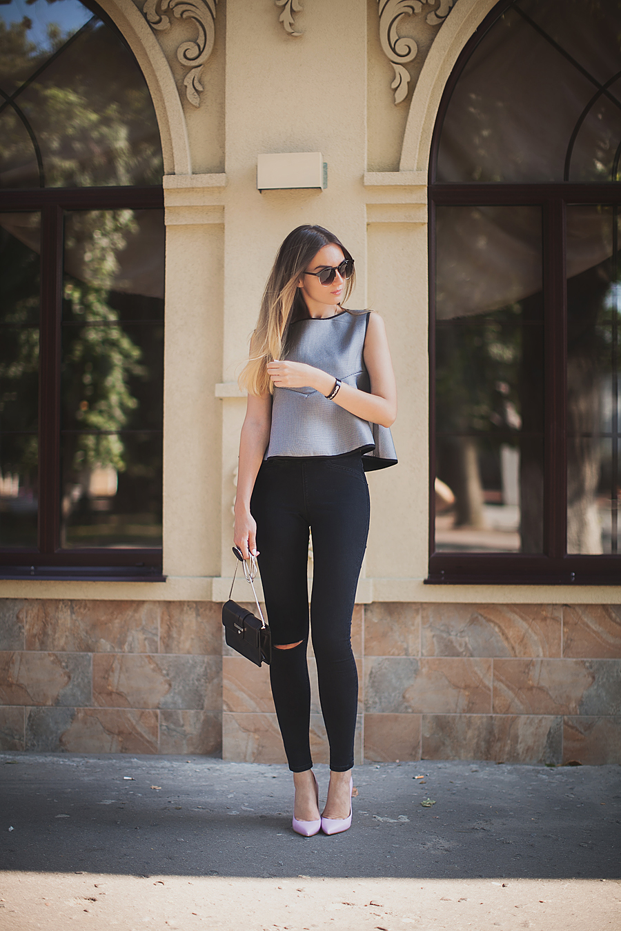 how-to-style-a-peplum-top-outfit-ideas