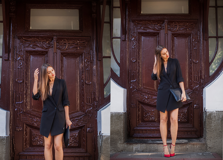 outfit-street-style-blazer-dress-fashion-blogger
