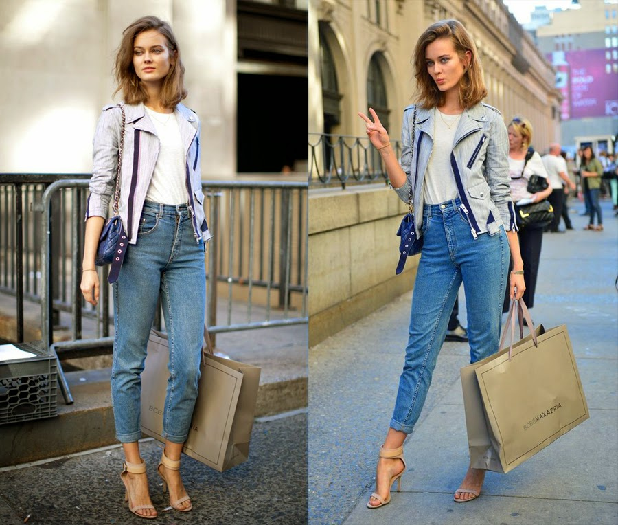 Oct 04,  · How to Style Mom Jeans. Mom jeans are comfortable, practical, and form-flattering, making them a great fashion choice. Since mom jeans have a different look than most others, knowing how to pick out the right pair and create outfits that Views: K.