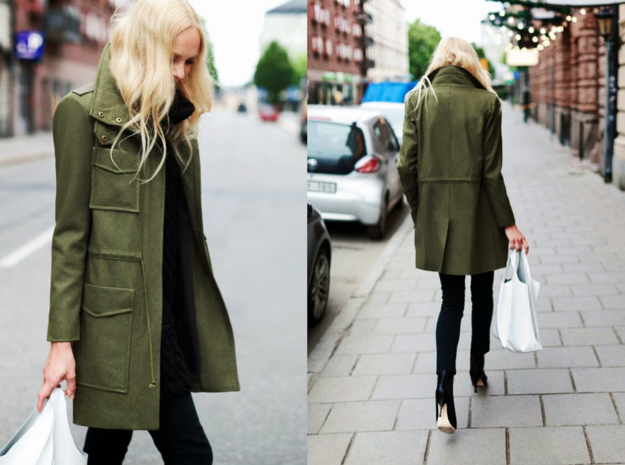 Sunday Cravings Army Green Fashion Agony Daily
