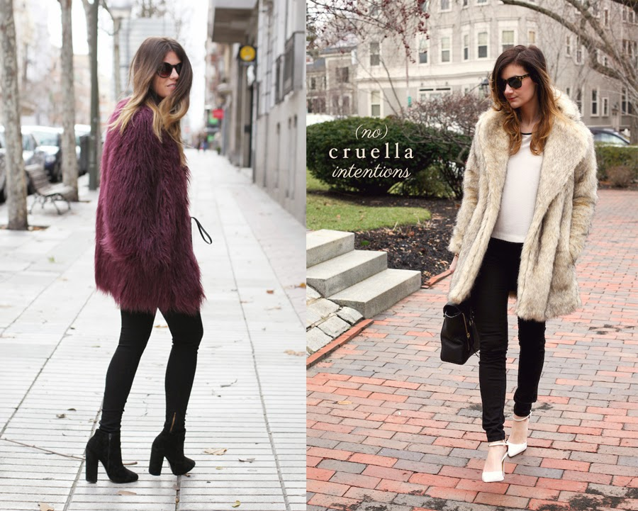 Images of Fur Coat Outfit - Reikian