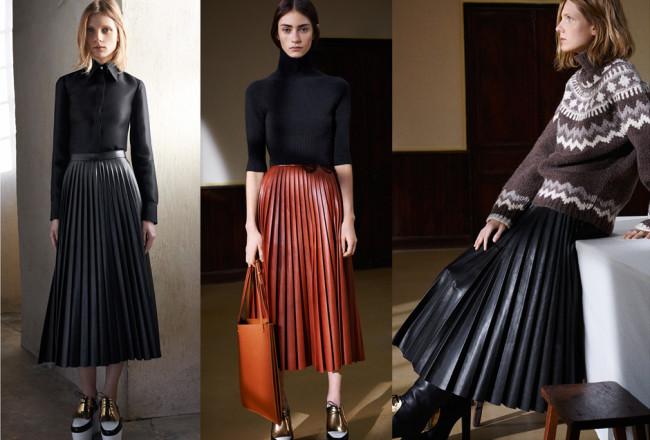 celine-pleated-skirt-fall-2015