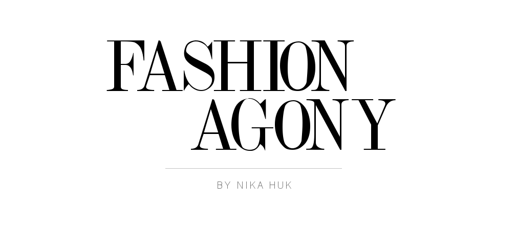 Fashion Agony | Daily outfits, fashion trends and inspiration | Fashion blog by Nika Huk, Ukraine
